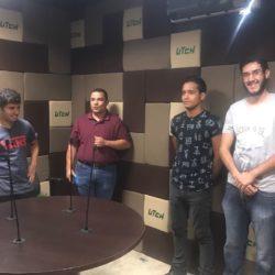 Visita de grupos de Tecnologías a Radio-UTCH