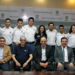 Despide el Secretario de Educación y Deporte a alumnos beneficiados con el programa MEXPROTEC