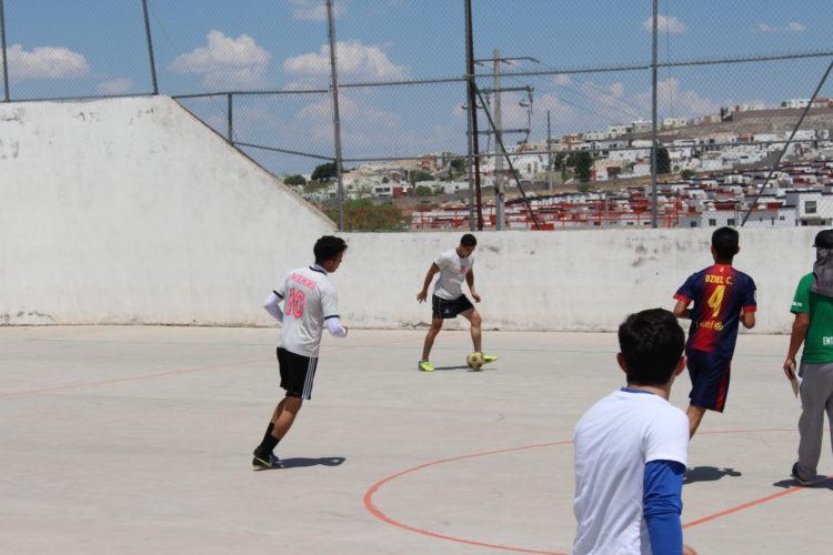"""Cuartos de final de torneo """"Intramuros"""""""