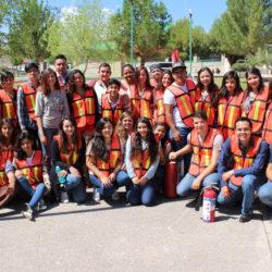 Realizan alumnos de la UTCH simulacro de evacuación
