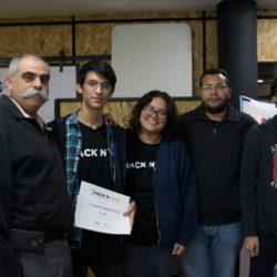 Cazadores obtienen 2do lugar en Hackathon