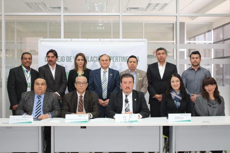 Instalación del Consejo de Vinculación y Pertinencia en la UTCH