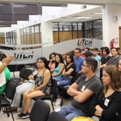 Imparten pláticas de actitudes para el trabajo a próximos egresados de la UTCH