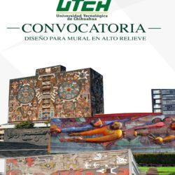 Invitan a estudiantes de la UTCH a participar en la convocatoria Diseño Mural en Relieve