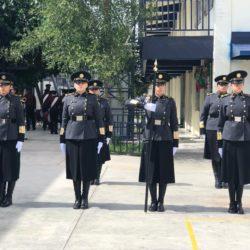 Escolta y Banda de Guerra de la UTCH se llevan los primeros lugares