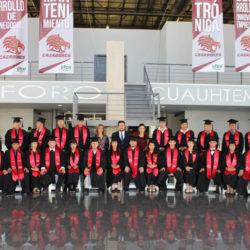 Graduación Campus Cuauhtémoc: 79 nuevos egresados