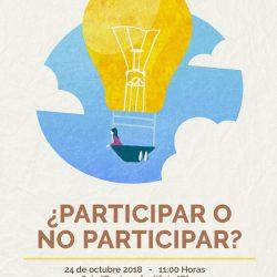"""Invita IEE a su plática """"Democracia y participación ciudadana: ¿Participar o no participar?"""" en la UTCH"""