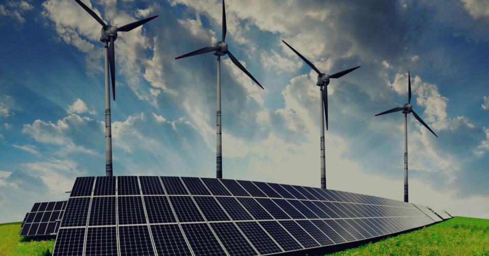 La energía solar y eólica pasan a ocupar un lugar dominante en la inversión de fuentes de energía