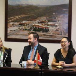 Cónsul de Cánada visita la Universidad Tecnológica de Chihuahua