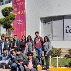 Estudiantes de la Universidad Tecnológica de Chihuahua visitan la Plaza Cultural Los Laureles