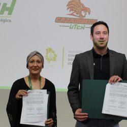 La Universidad Tecnológica de Chihuahua firma de Convenio General de Colaboración con el Instituto Chihuahuense del Deporte y Cultura Física