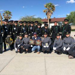 Obtienen los primeros lugares Banda de guerra y Escolta de bandera de la UTCH