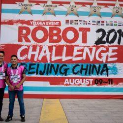 Destacada participación de Cazadores en China