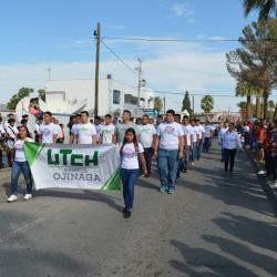 UTCH UNIDAD OJINAGA PRESENTE EN EL 209 ANIVERSARIO DE LA INDEPENDENCIA