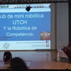 Presente Club de Mini Robótica de la UTCH en el COBACH 8
