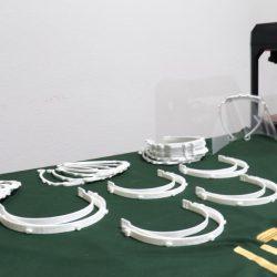 Se une UTCH a la fabricación y donación de caretas protectoras faciales