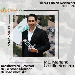 Participa Club de Mini Robótica UTCH en el Coloquio Multidisciplinario de  la UT de Nogales a distancia
