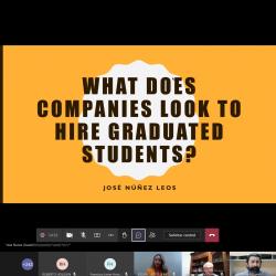 Reciben estudiantes de la UTCH plática acerca de lo que las empresas buscan en un egresado