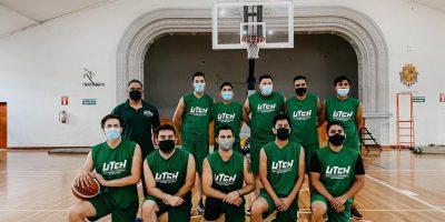 Participa equipo de Básquetbol de la UTCH en juegos amistosos de la UT de Parral